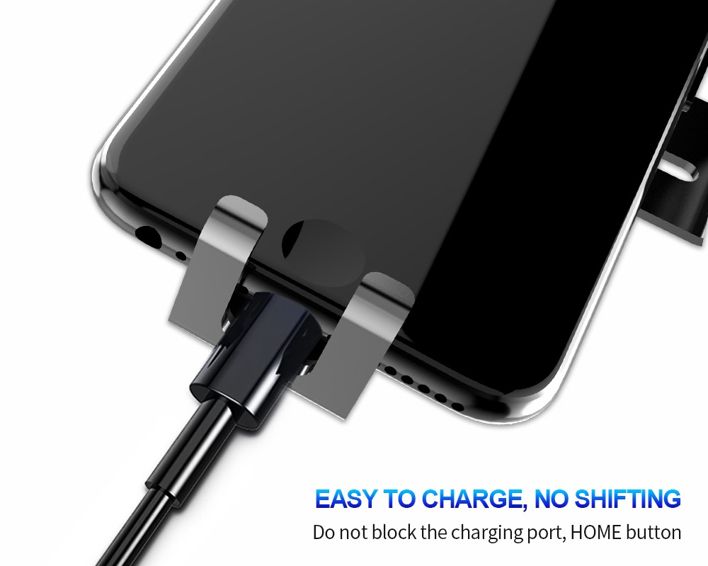 Car Wireless Charger Holder for iPhone Galaxy S8 Car Phone Holder Stand Fast Wireless charger Automatic