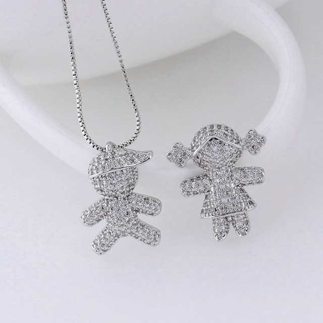 Fashion Costume Children Jewelry Silver Pendant Made In China Whole Kids Charm