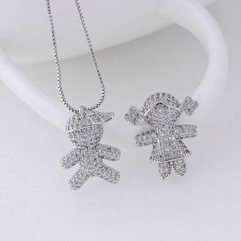 Fashion Costume Children Jewelry Silver Pendant Made In China Whole