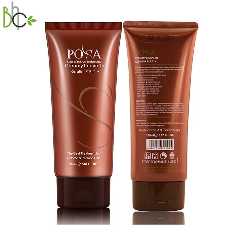 Private label all'ingrosso Posa P.P.T. Lasciare-in di riparazione balsamo per capelli