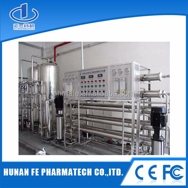 ro edi water treatment system for pharmaceutical and chemical