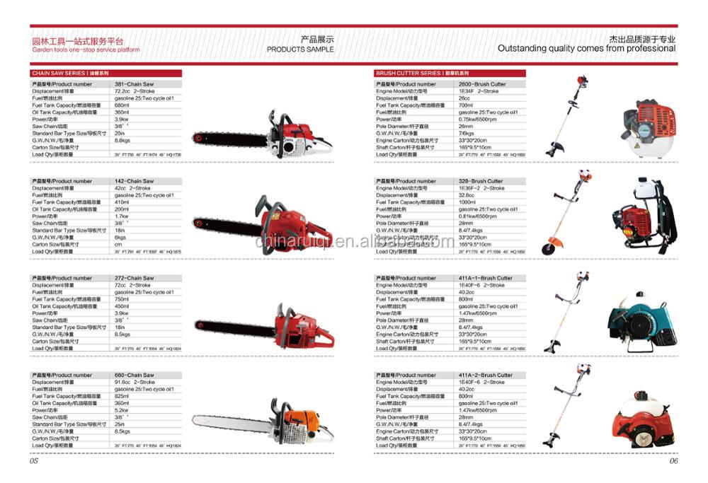 2017 New Type Hot Sale Gasoline Knapsack Brush Cutter Tiller 52cc Weeding Machine