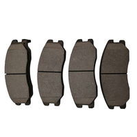 Factory Supplier for toyota corolla brake pads factory use