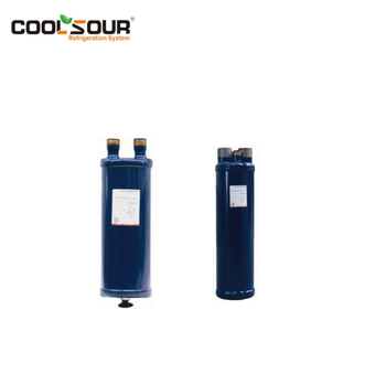 COOLSOUR Suction accumulator for refrigeration system