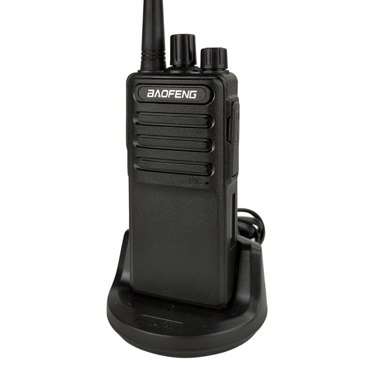 Baofeng BF-C5 Walkietalkie UHF 400-470 MHZ 8Wpower comunicador de Longo Alcance Com Suporte Android Carregador USB