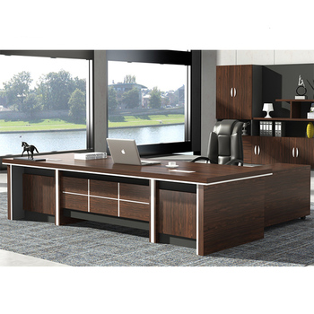 Executive Office Desk Color Wooden