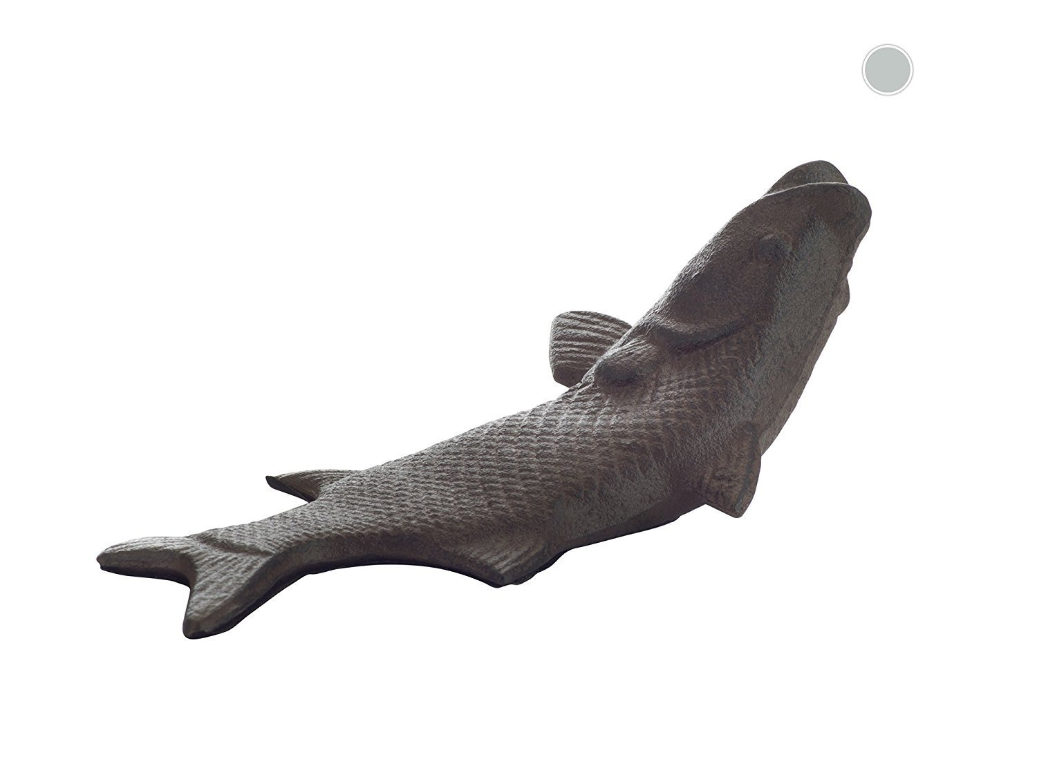 Vintage Cast Iron Fish Door Stop Wedge By Comfify | Lovely Decorative  Finish, Padded Anti
