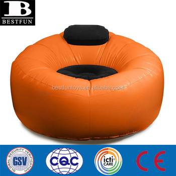Pleasant Heavy Weight Vinyl Inflatable Cafe Lounge Chair Durable Plastic Blow Up Flocked Cushions Round Sofa With Headrest Buy Inflatable Round Uwap Interior Chair Design Uwaporg