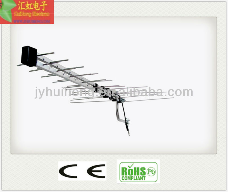 VHF/UHF foldable log period 3g antenna outdoor