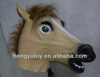 new bombshell with eyebrow eye shadow halloween latex women horse mask