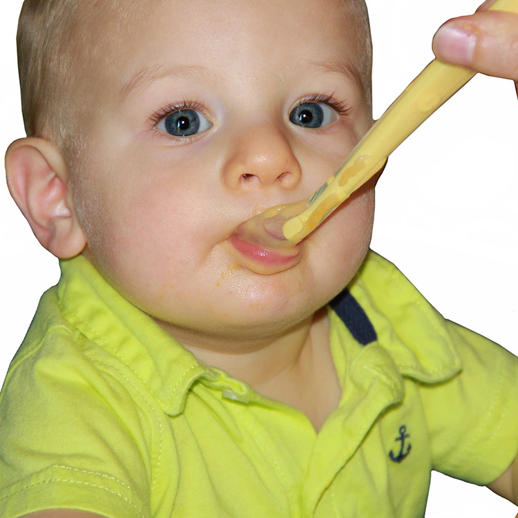 Colorful Best-selling high quality soft baby feeding silicone spoon