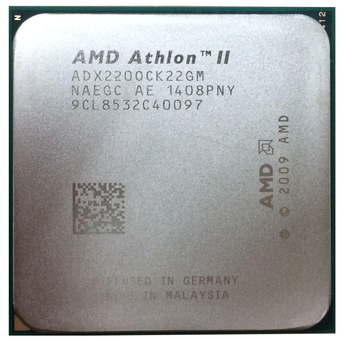 AMD Athlon II X2 220 2.8GHz 2x512KB Socket AM3 Dual-Core CPU