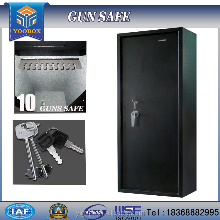 2016 HOT YOOBOX GUN SAFE WITH 10 GUNS YLGS-C-10 GUN CABINET cabinet hinge drawings