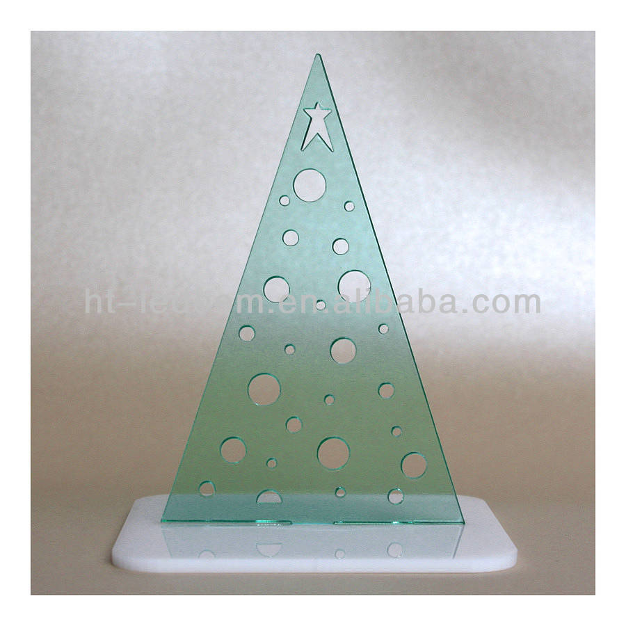 Acrylic Christmas Tree Display Stand