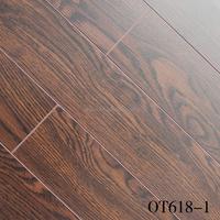 2016 New design hdf v-groove waterproof laminate flooring of China