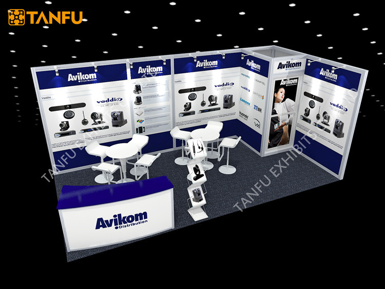 Exhibition Stand With Shelves : Or trade show exhibition stand with storage room buy