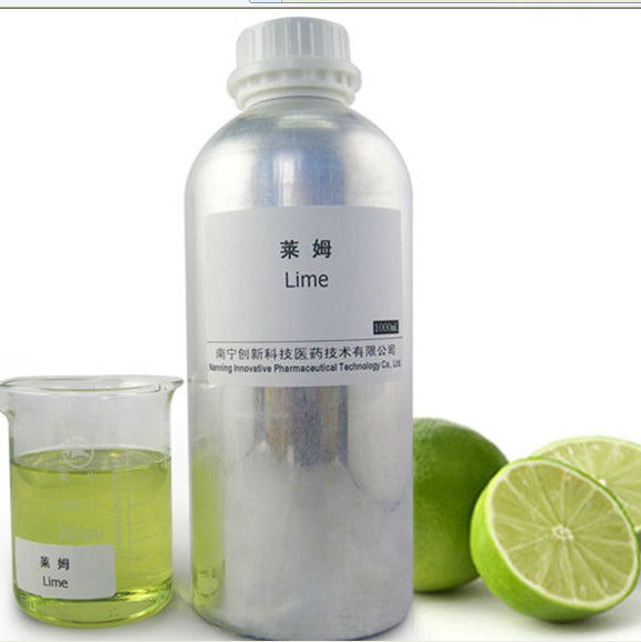 White lemon oil Natural essential oil lime oil distilled