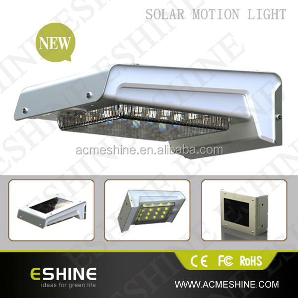 Solar Two Directional 36 Bright White LED Security Flood Light with Motion Activated Sensor