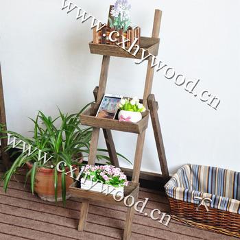 Outdoor Plant Stand Flower Garden Pot