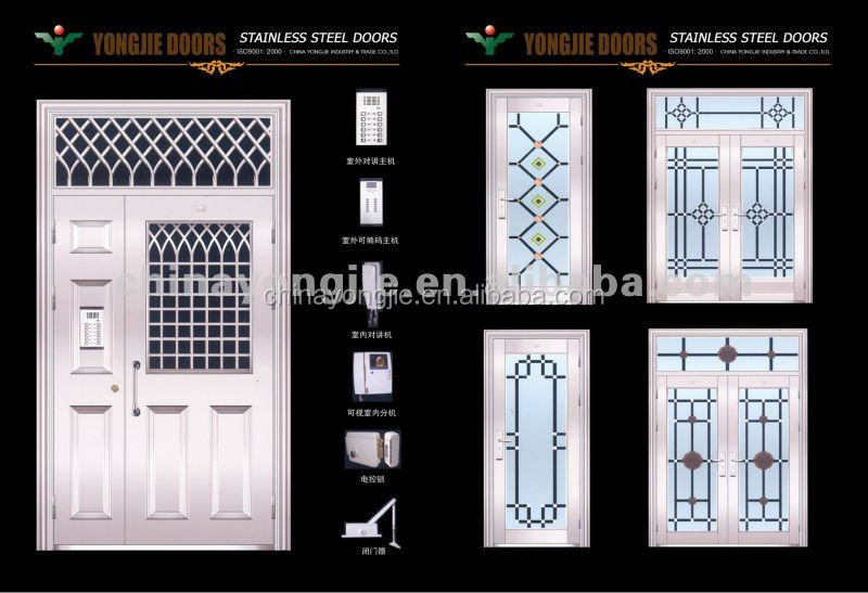 China Wholesale New Product Ss Stainless Steel Door Design