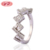 Personal Gift Items 2019 Gold Jewellery for Women Classic Simple Gold Ring Diamond