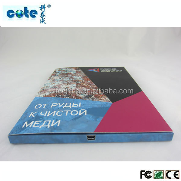 high quality Wholesale lcd video booklet