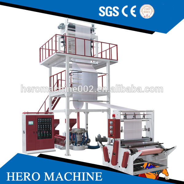 Double color plastic water tank making Film Blowing Machine with high quality plastic film welding machine