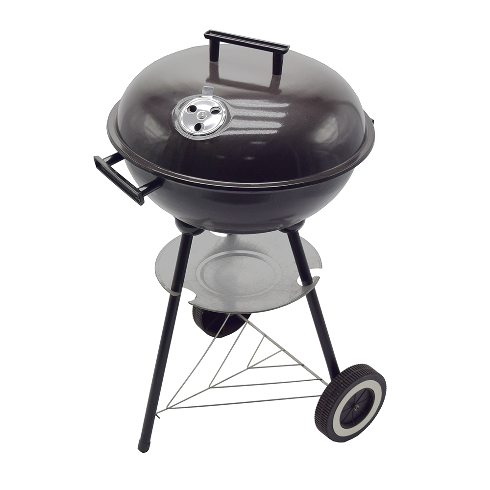 Populaire ontwerpen outdoor houtskool barbecue grill draagbare bbq grill-16 inch Ketel Grill