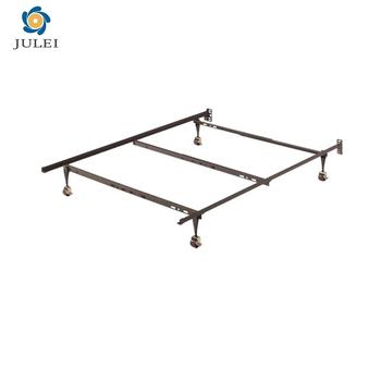Dj Q02 China Supplier Angle Iron T F Q Size Adjustable Metal Bed