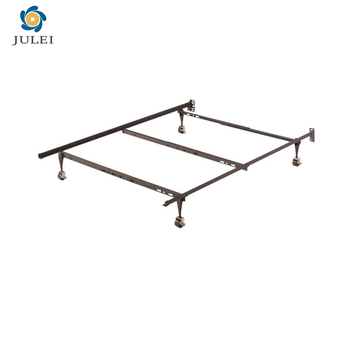 Dj-q02 China Supplier Angle Iron T/f/q Size Adjustable Metal Bed ...