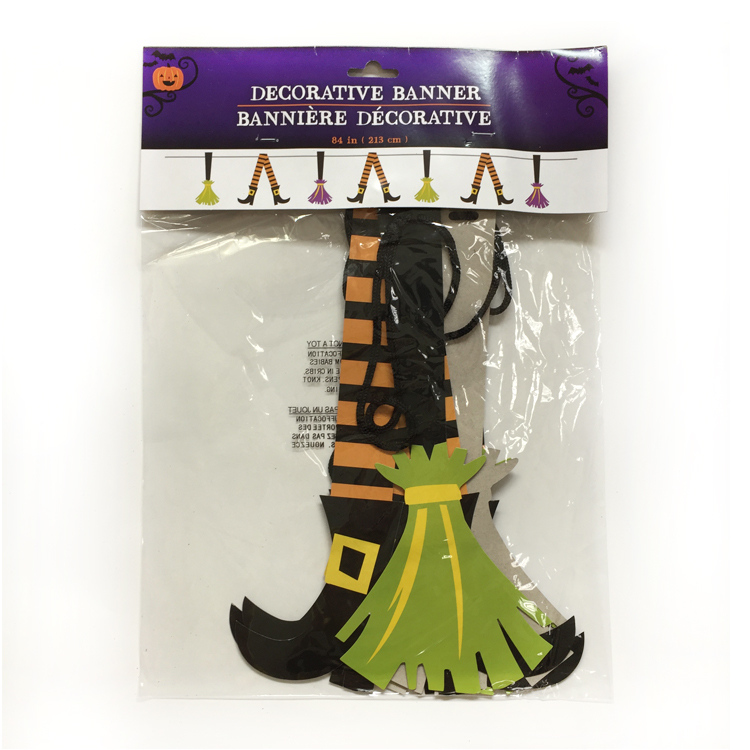 Holiday Indoor Artificial Paper Cheap Halloween Decorations