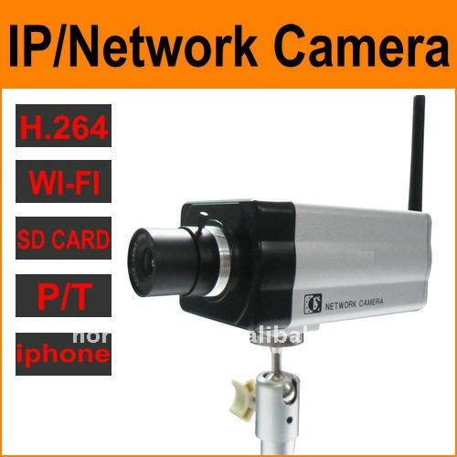wifi/RJ-45 IP Camera with CCD Sensor for NCH-531W