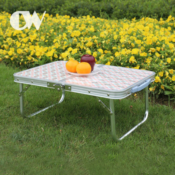 Best selling small compact outdoor camping picnic folding aluminum table