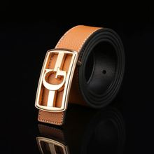 Best seller superior quality man's luxury fashion leather belt