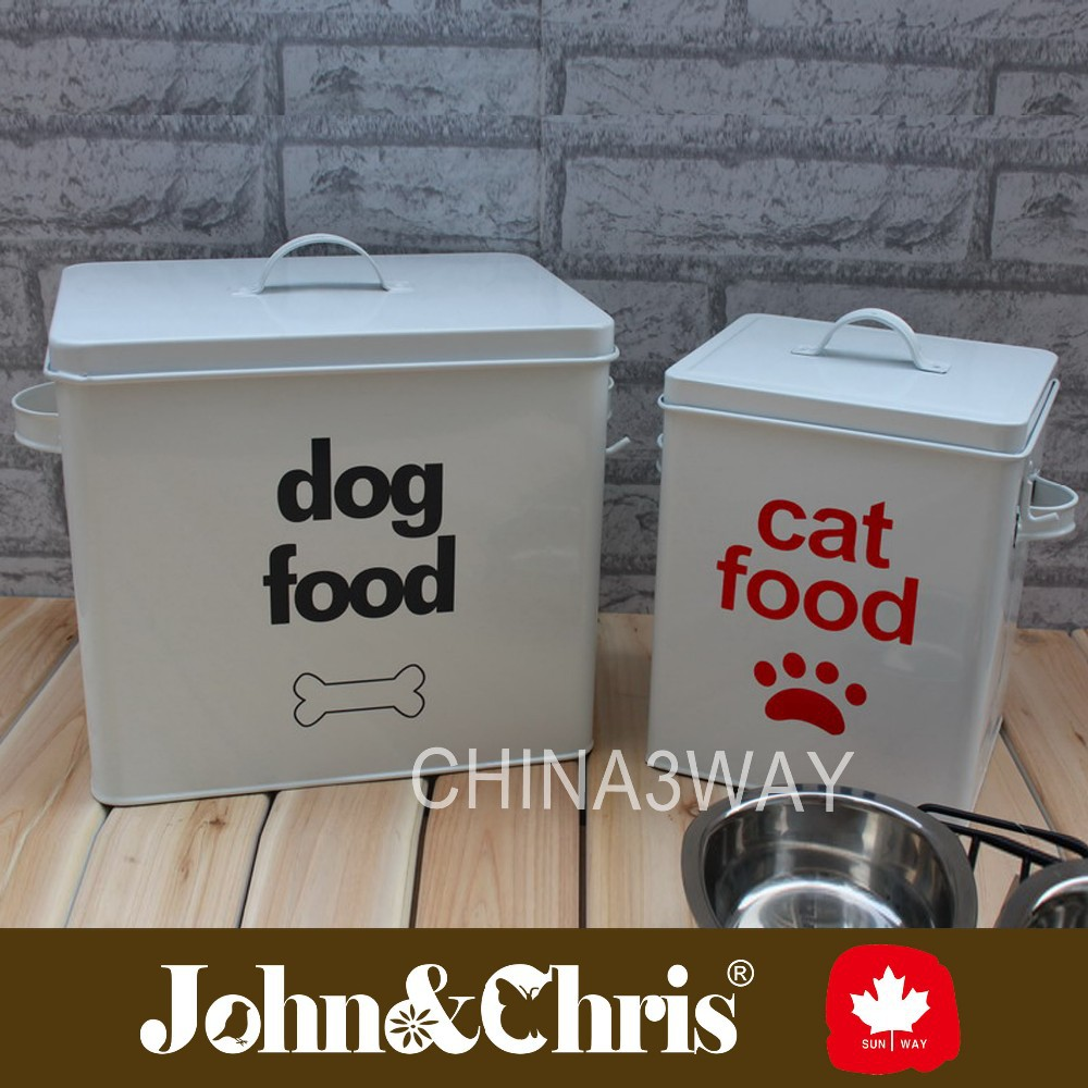 Metal Dog Food Container - Easy Home Decorating Ideas