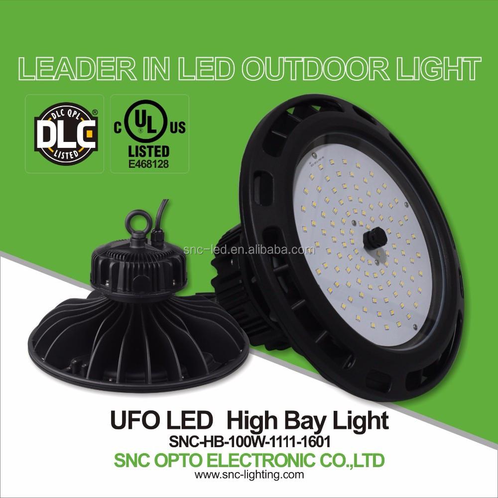 Best Price Ul Dlc Led Warehouse Ufo High Bay Light 100w