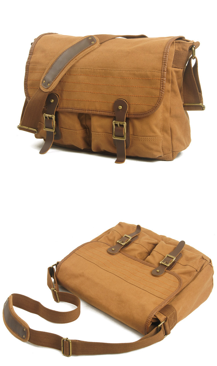 Hot selling vintage canvas messenger bag,Stylish Bag Canvas Bag