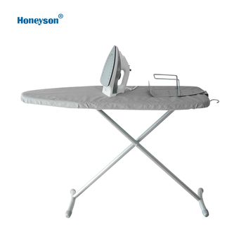 Honeyson hotel iron with wall mounted ironing board set and iron holder