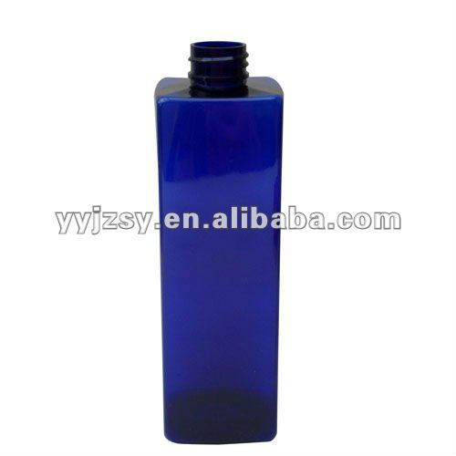 tinted square bottle 500ML PET
