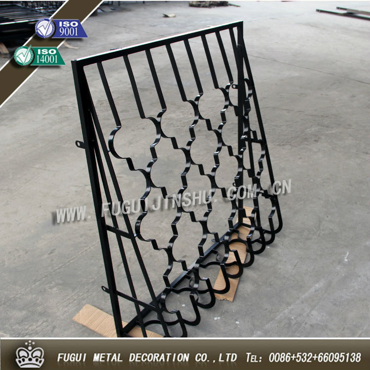 Fugui New Type Wrought Iron Window Grills Design