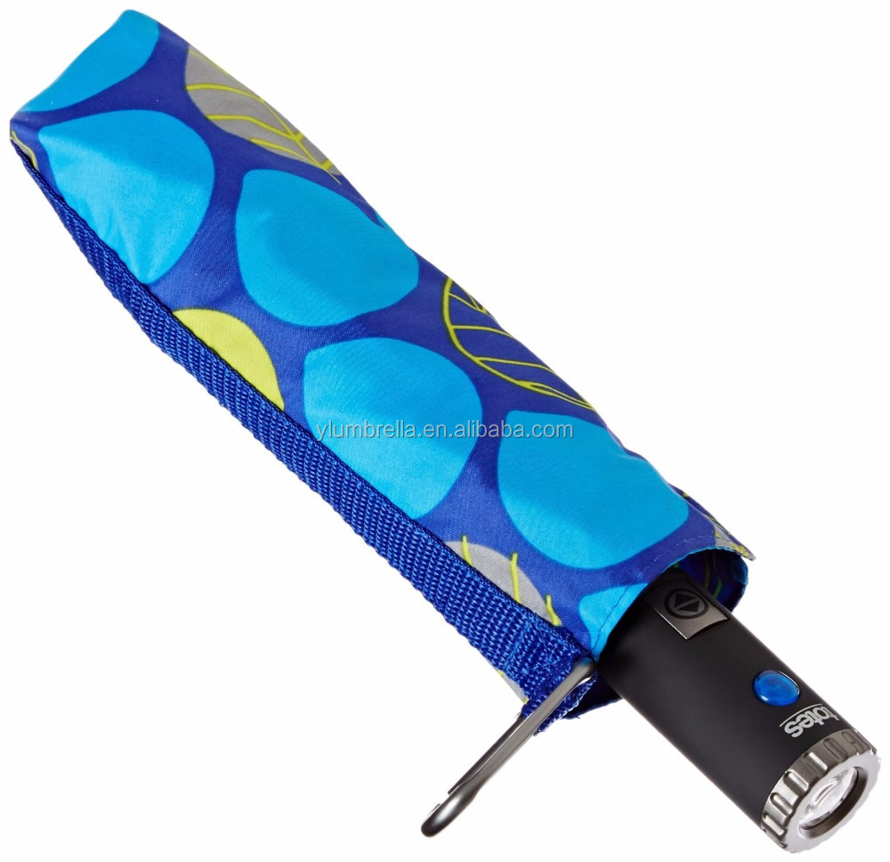 23 inch full printing Automatic Umbrella, 3 Fold Automatic Umbrella