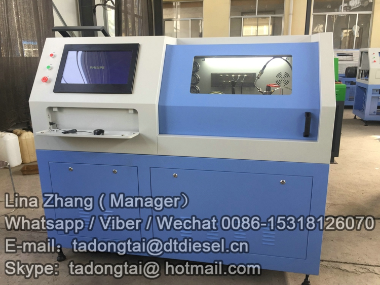 New electromagnetic dynamic vibration test bench CR816
