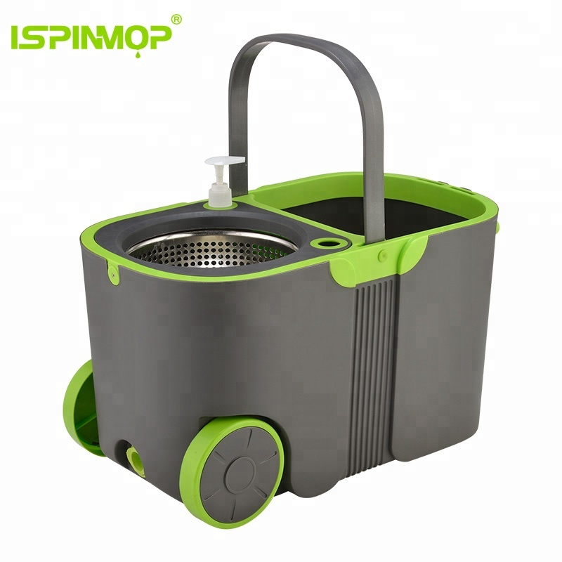 ISPINMOP Factory wholesale standard household tools online shopping india dust 360 microfiber floor cleaning mop