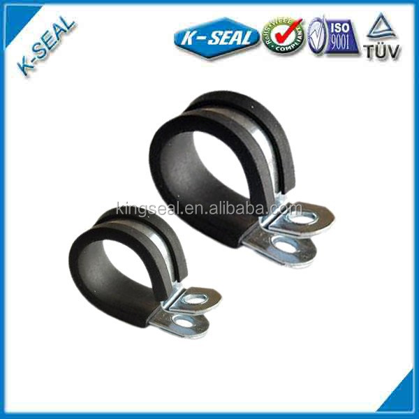 strong metal p rubber hose clip