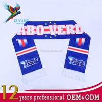 High quality elastic polyester sublimation scarves with logo