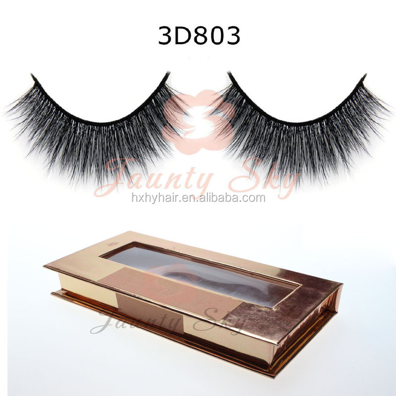 odm oem 3d banana lashes 3d korea pbt fiber false eyelashes custom magnet box with private brand