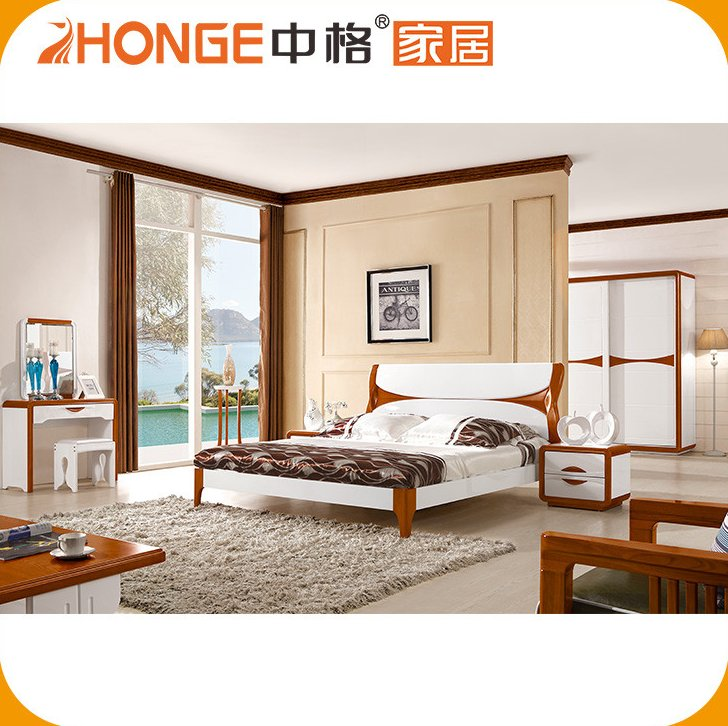 Cheap Price Classic Model Of Chinese Style Beds In Wood For Sale