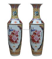 Ceramic Antique Large Chinese Porcelain Floor Vases
