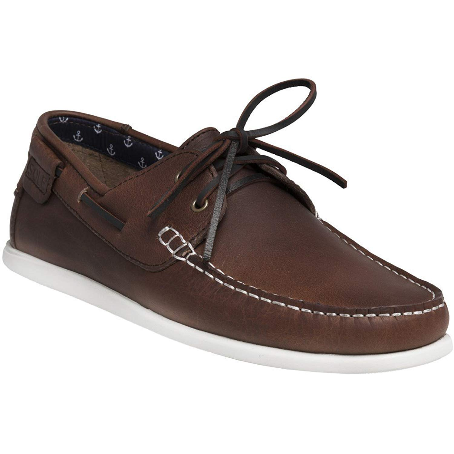 ae0bf1d7c8d4 Get Quotations · Sole Penry Mens Shoes Brown