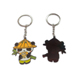 Chinese products wholesale cute couple keychain with logo